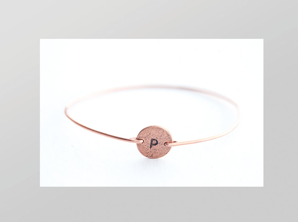 Image of Personalized Copper Bracelet