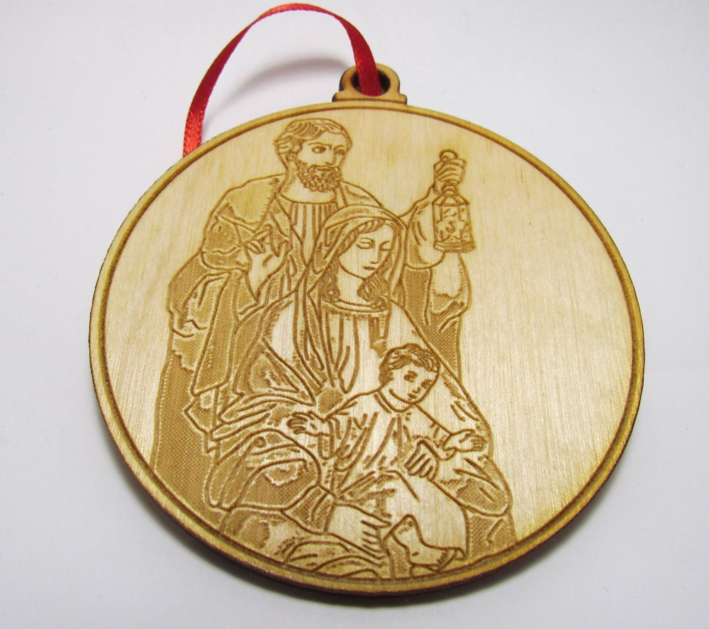Image of Holy Family Christmas Ornament