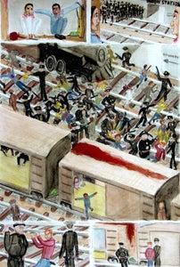 Image of GÖLDEN Graphic Novel - Original Art 2