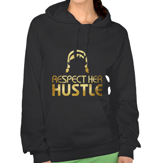 Image of Respect HER Hustle Unisex Hoodies