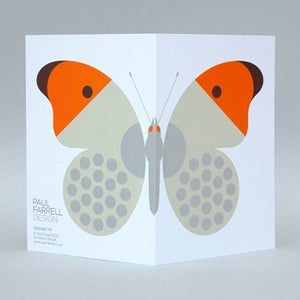 Image of Orange Tip card