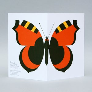 Image of Small Tortoiseshell card