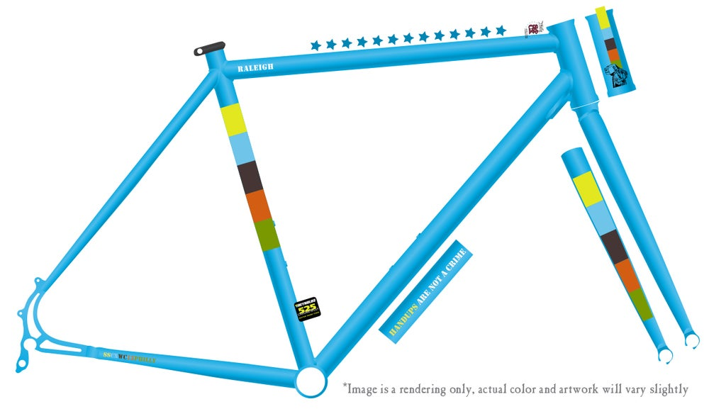 Image of Limited Edition SSCXWC13 Philly Raleigh Frameset