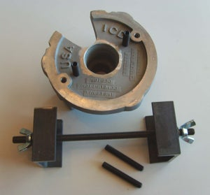 Image of Harley Flywheel assembly fixture