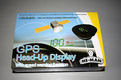 Image of he man head up display free delivery