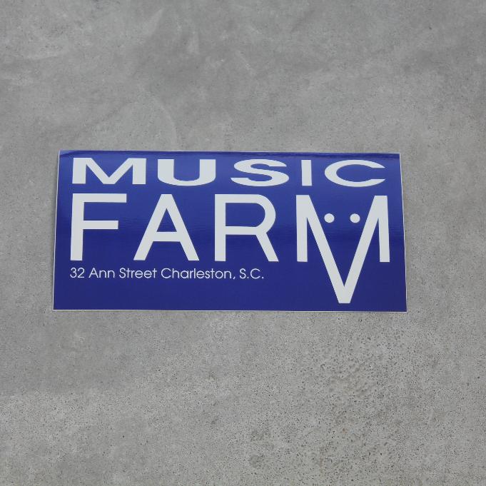 Image of Music Farm Sticker