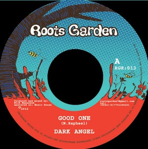 "Image of 7"" Dark Angel 'Good One' / Mannaseh 'Good One Version' (Reuben rhythm)"