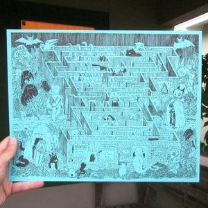 Image of Maze Print