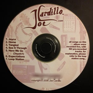 Image of Joe Cardillo Live EP (Digital Dwnload)