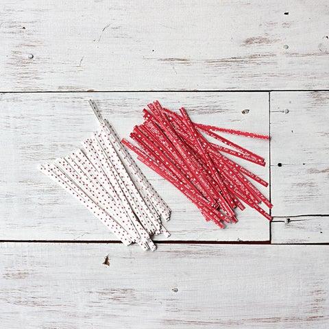 Image of Printed Twist Ties