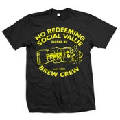 "Image of NO REDEEMING SOCIAL VALUE ""Brew Crew"" T-Shirt"