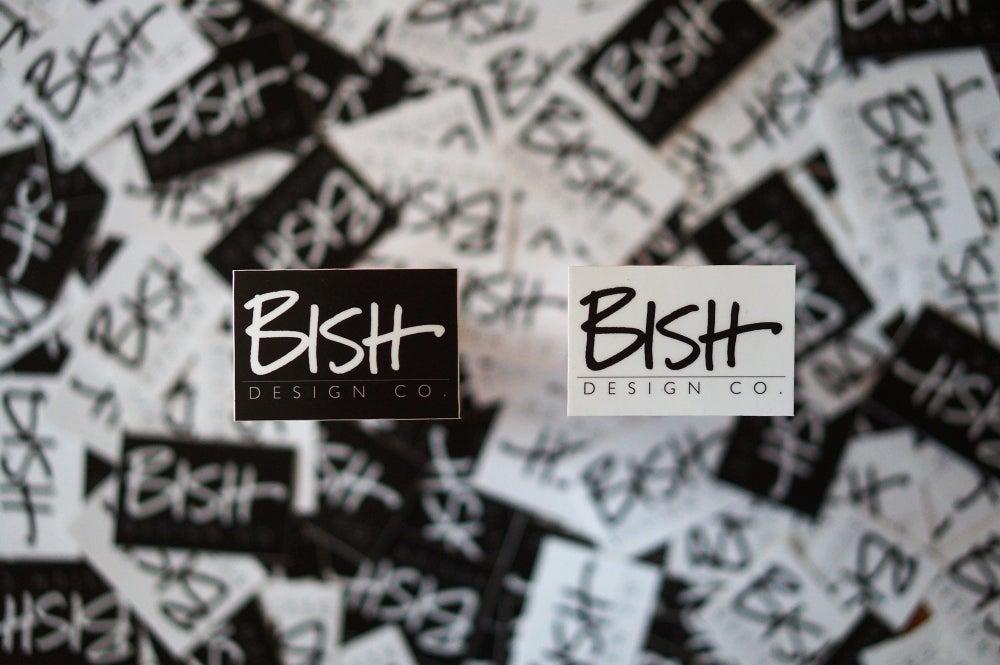 Image of Bish Design Co. Sticker Pack