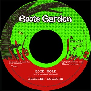 "Image of 7"" Brother Culture 'Good Word' / Mannaseh 'Dub The Word'"