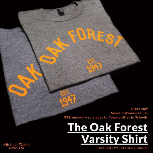 Image of Oak Forest Varsity Shirt