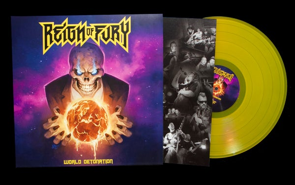 Image of WORLD DETONATION VINYL LP | STRICTLY LIMITED SPECIAL EDITION