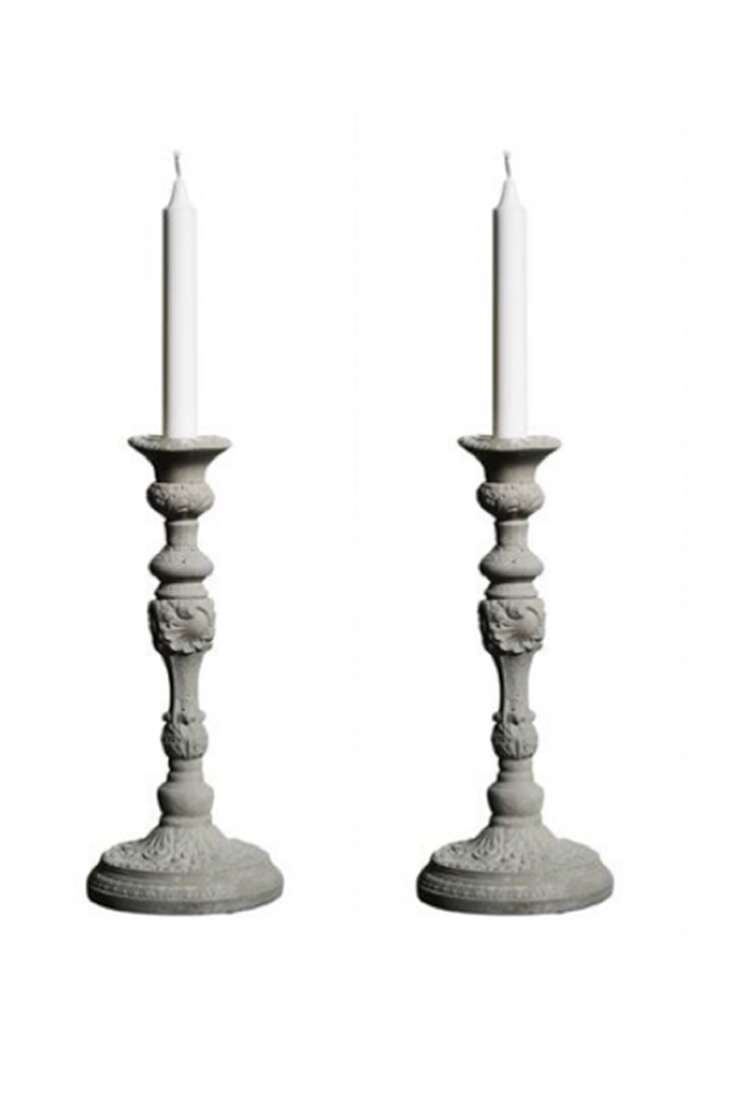 "Image of Tove Adman's Concrete Candlestick - ""Mix"""