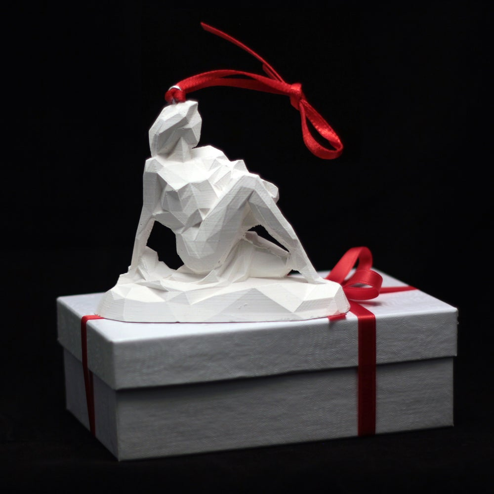 Image of White Lady Christmas decoration