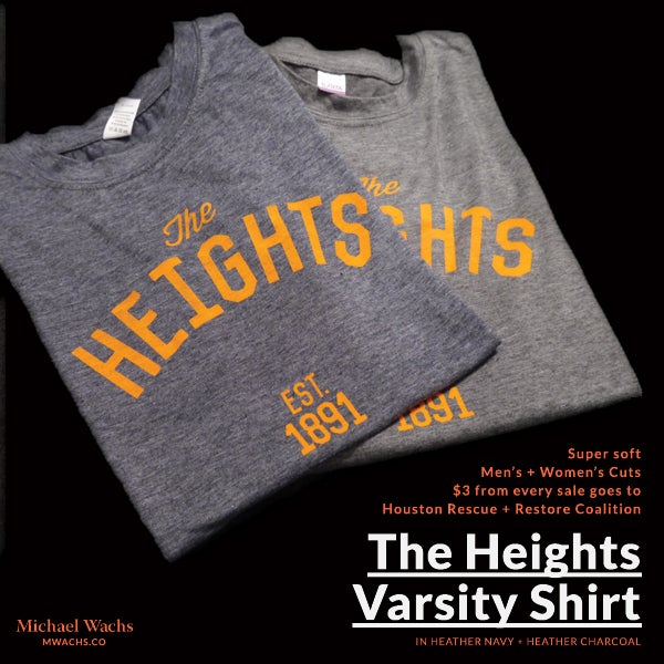 Image of Heights Varsity Shirts