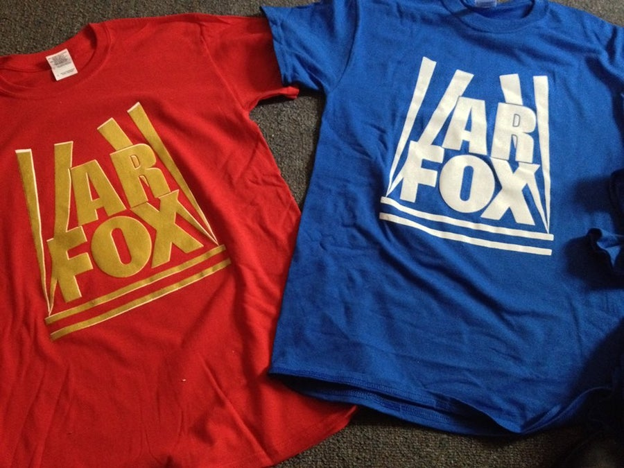 "Image of A.R FOX ""FOX NEWS'"" T-SHIRT!!!"