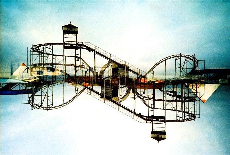 """Image of """"loop the loopy loop"""" limited edition print"""