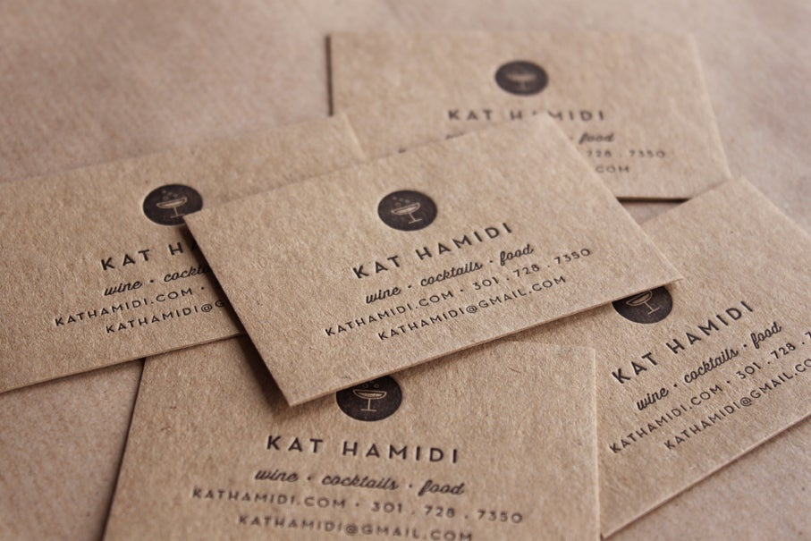 Letterpress Business Cards and Wedding Invitations : Maple Tea