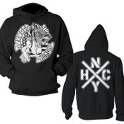 "Image of AWKWARD THOUGHT ""NYHC"" Hoodie"