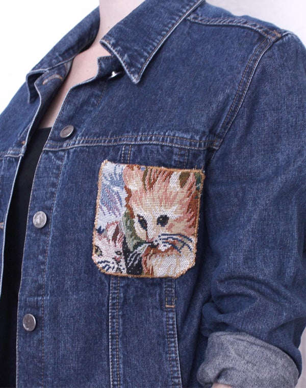 Image of CAT DENIM JACKET