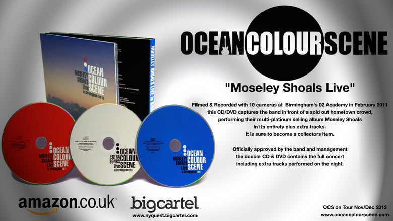 "Image of ""Moseley Shoals Live"" Limited Edition CD/DVD"