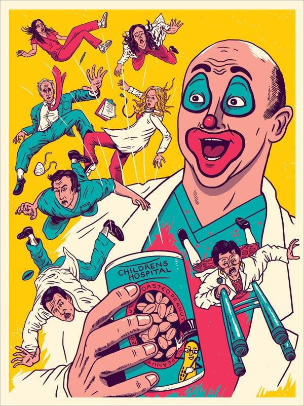 Image of Children's Hospital Adult Swim Art Print
