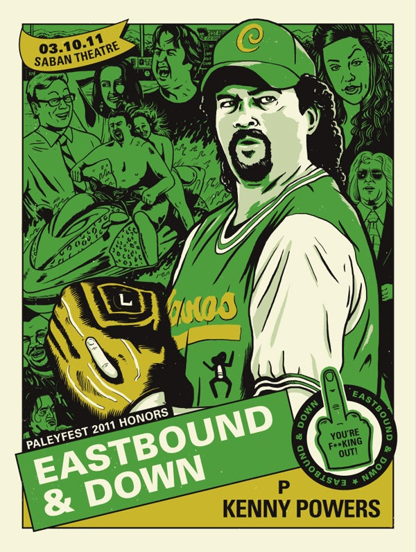Image of Eastbound & Down Print