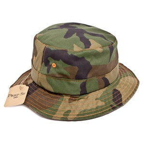 Image of Camo Bucket Cap (Made in USA)