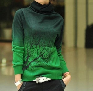 Image of Ms high-necked cashmere sweater