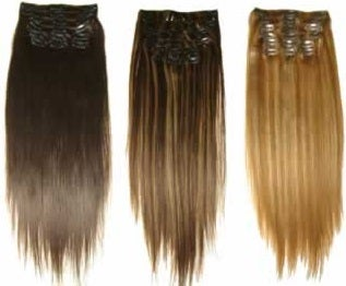 Image of Clip-Ins 7A - 8 piece set