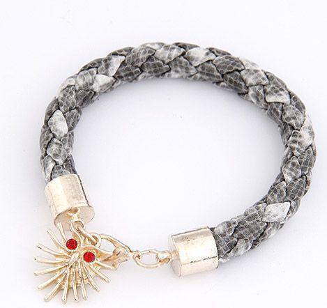 Image of Wężowa bransoletka z ośmiornicą