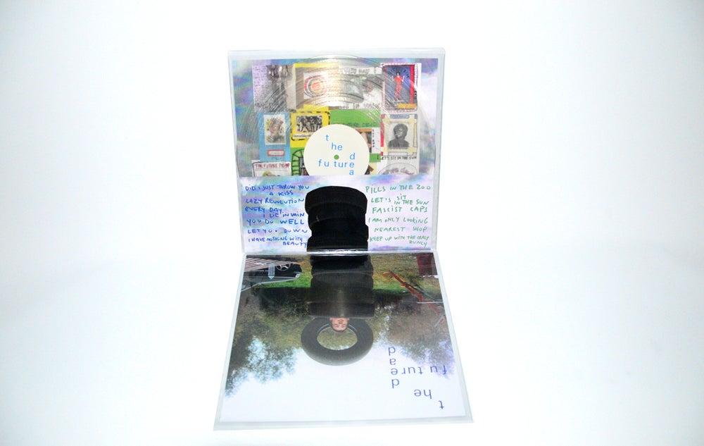"Image of ""the future dead"" on vinyl"