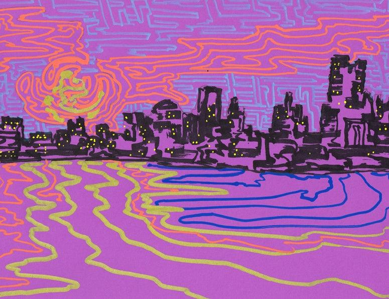 Image of Purple Manhattan