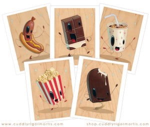 """Image of """"Hot Diggity"""" giclee print"""