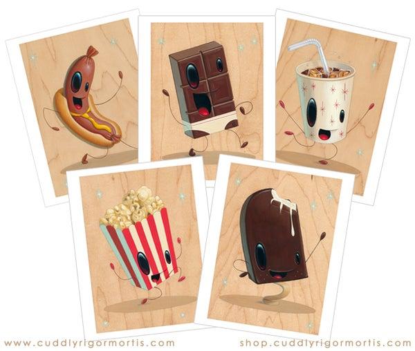 "Image of ""Intermission"" Print Set of Five"
