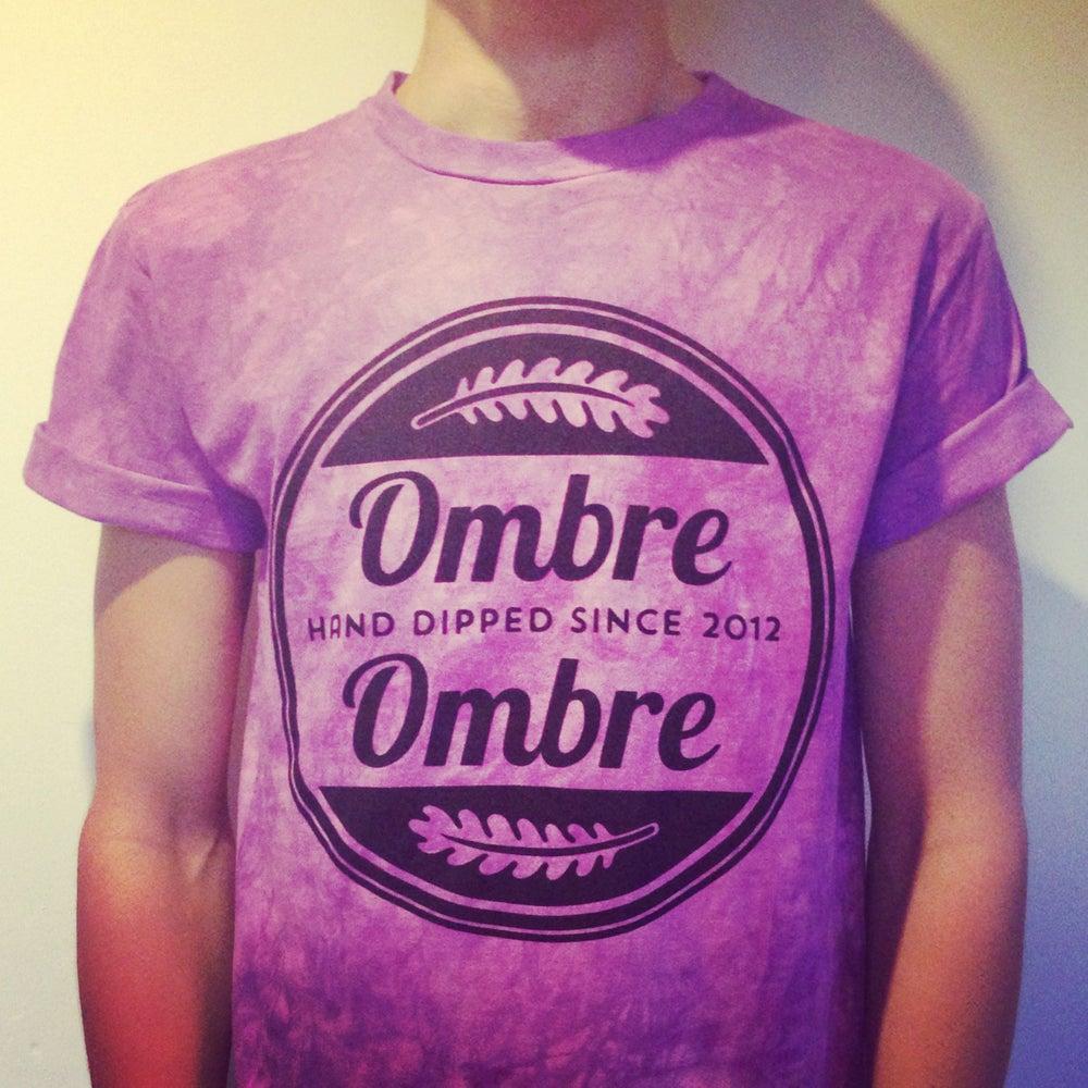 Image of Purple Marble Logo Tee