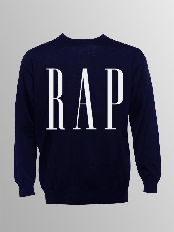 Image of Original RAP Sweatshirt | Navy Blue
