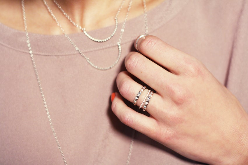 Image of Arma studded ring