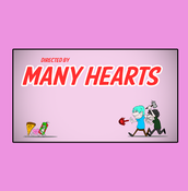 "Image of Many Hearts ""January 2008"" title card"