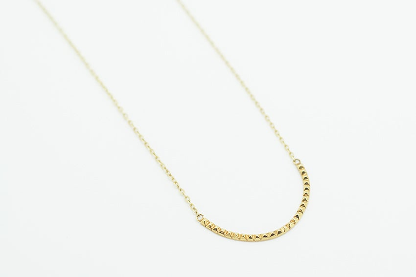 Image of Gold Arma studded necklace