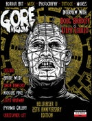 Image of Gore Noir Magazine Issue #10 Hellraiser/80's Edition IN STOCK!