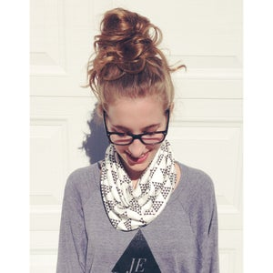Image of THE PERFECT ORGANIC COTTON INFINITY SCARF - Women's size