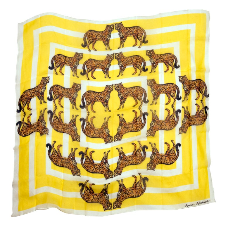 Image of Cheetah Spotting Scarf