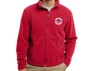 Image of SSHF Full Zipper Fleece Jacket with Zip Pockets