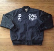 Image of JCI Varsity (Charcoal/Black) Coat