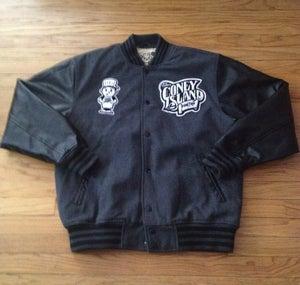 Image of JCI Varsity (Charcoal/Black) Coat