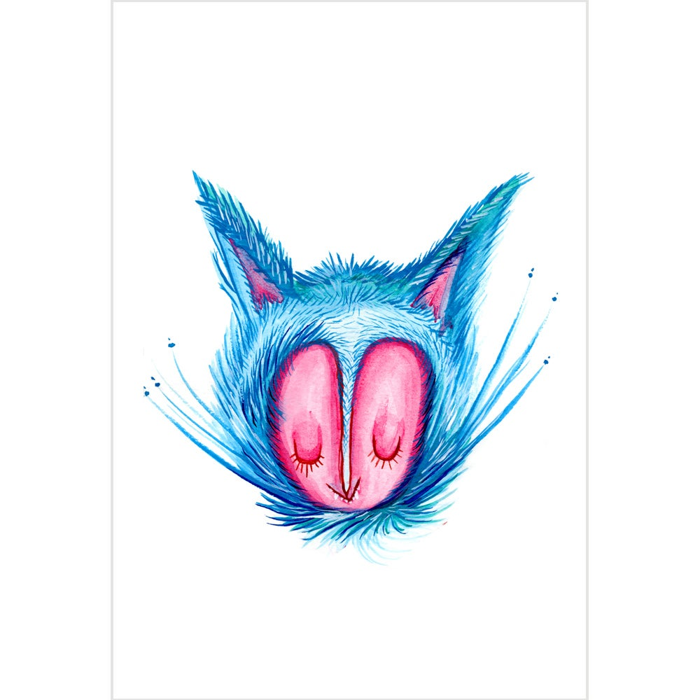 Image of One Cat Print